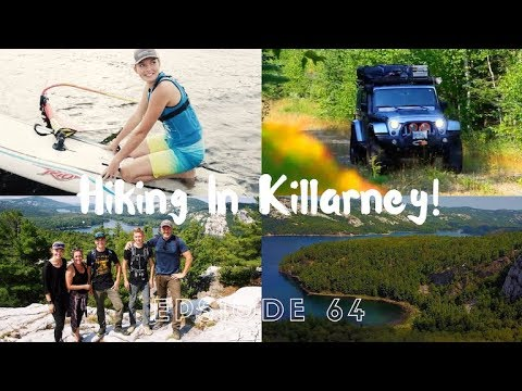 INCREDIBLE Ontario Hike; Windsurfing and Cabin building  - Family Off The Grid // EFRT EP 64