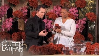 Jeff Leatham's Flower Arrangement Tips on The Queen Latifah Show