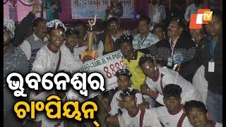 State level football tournament in Sonepur