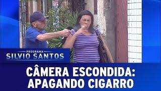Câmera Escondida (18/09/16) - Apagando Cigarro