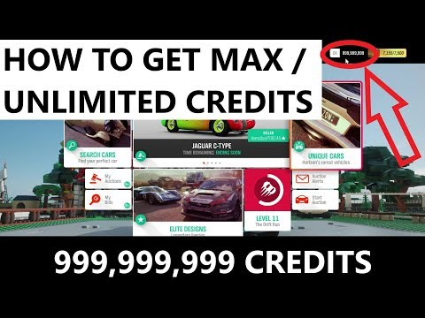 How To Get Max/Unlimited Credits | Forza Horizon 4