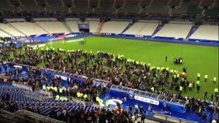 Attacco alla Francia: paura durante Francia-Germania