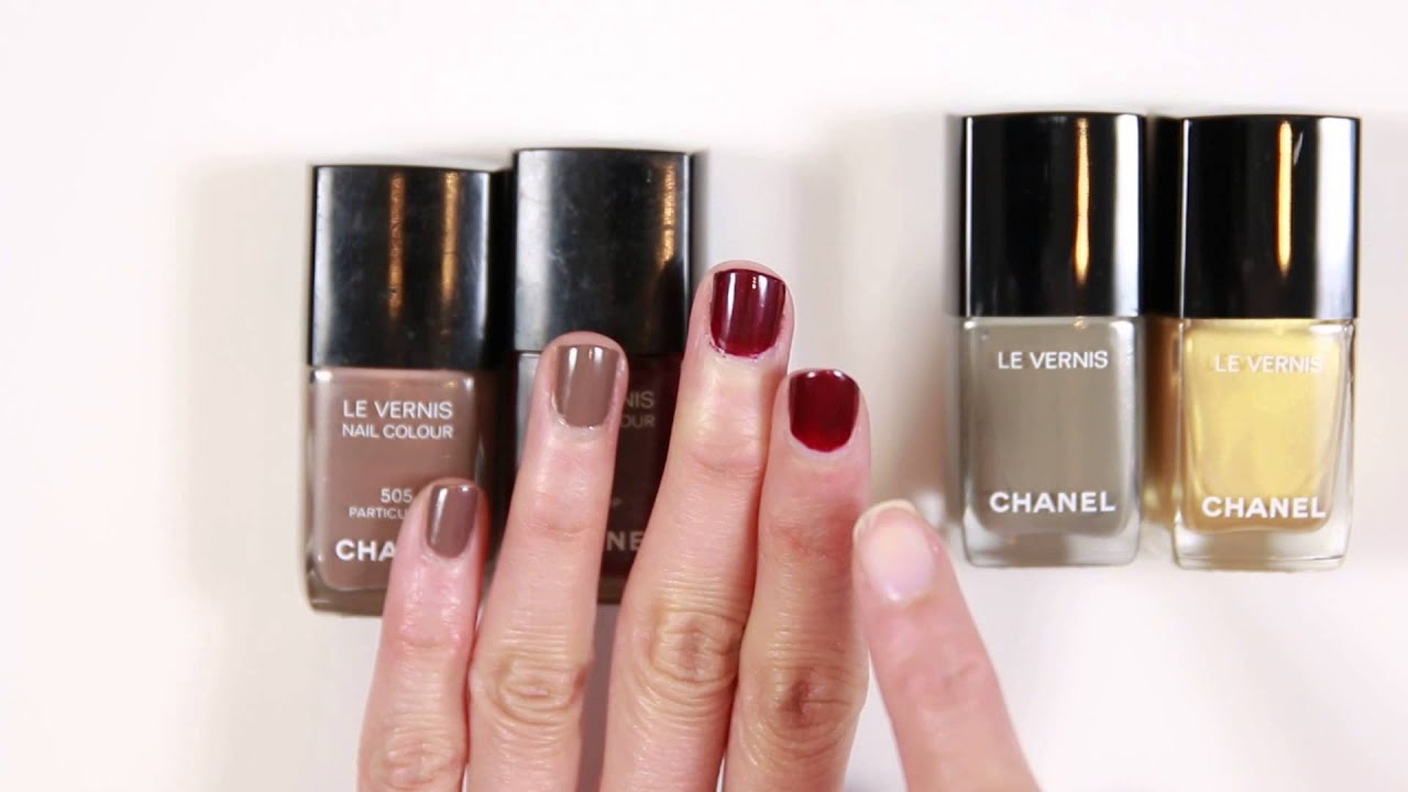 Chanel Longwear Nail Polish Vernis Longue Tenue 2016 Vamp and ...