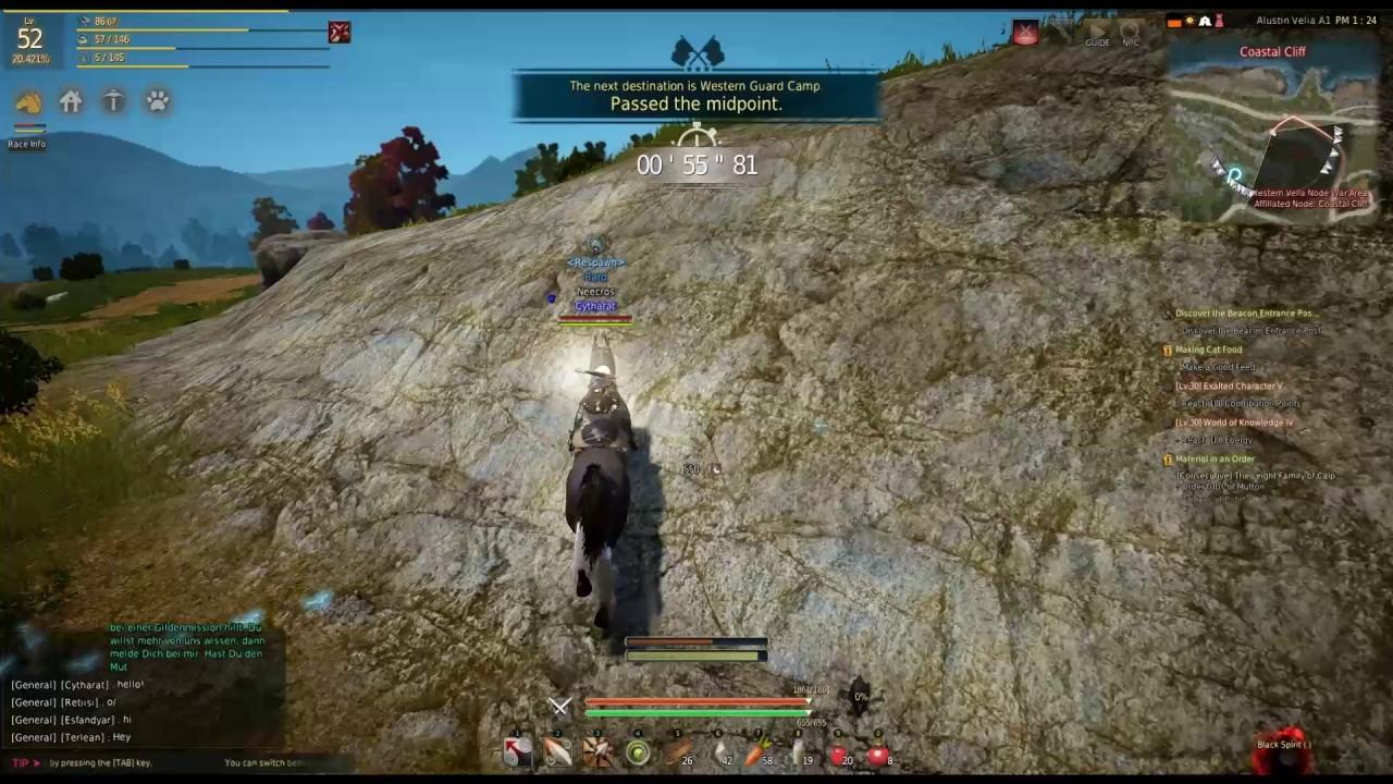 Black Desert Online - My First T7 Horse Breeding by Chi Cha