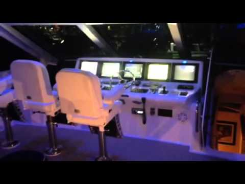 Hatteras motoryacht flybridge Showboat 72 2009