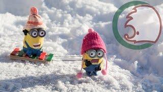 Санки-салазки для кукол. Монстер Хай. How to make small sledge for LPS.(, 2013-12-10T21:29:20.000Z)