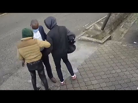 Thugs caught on camera stealing from Nairobi pedestrian arrested ...