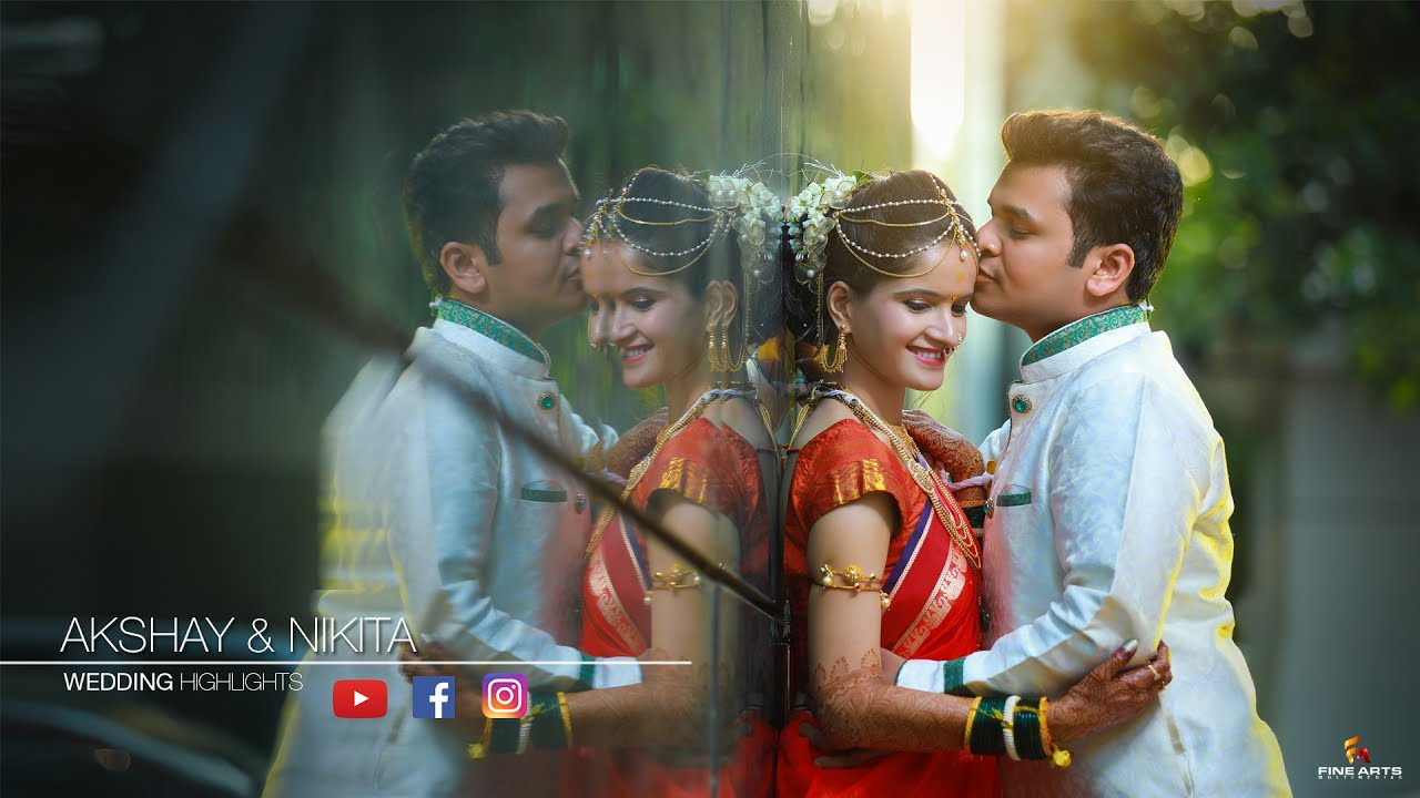 An Outstanding MUMBAI MARATHI Wedding of Akshay & Nikita