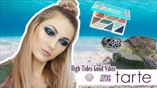 🐚🐢TUTO - High Tides Good Vibes avec TARTE  🐢🐚