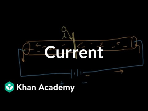 Current | Introduction to electrical engineering | Electrical engineering | Khan Academy