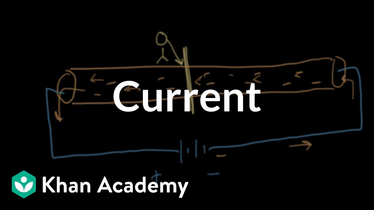 Electric current (video) | Getting started | Khan Academy