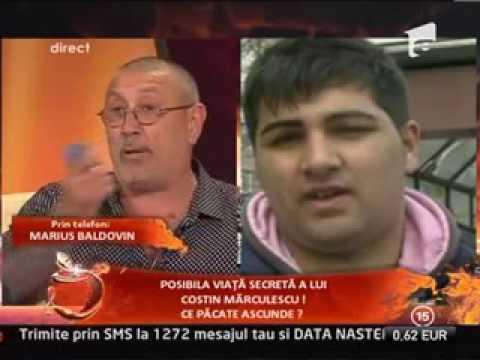 Serghei Mizil se pișă pe marius baldovin Un Show Pacatos