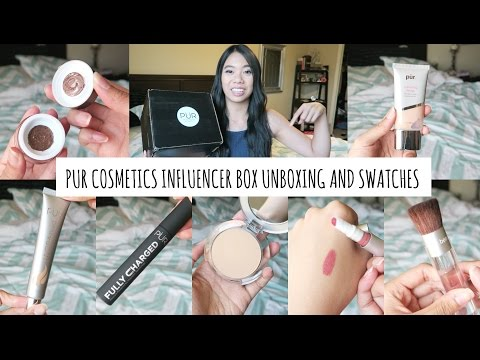 PUR Cosmetics PR Box Haul & Swatches!