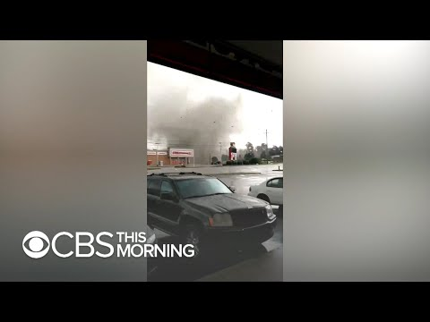 Powerful tornado rips through South Bend Indiana