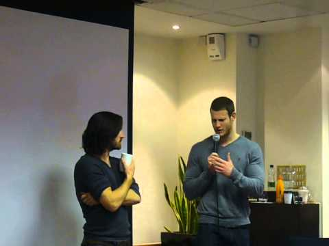 Tom Hopper marriage proposal to Eoin Macken - ColdCon