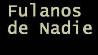 Ivan Noble - Fulanos de Nadie