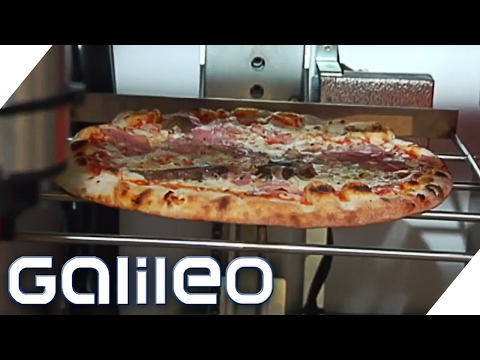 Pizza per Knopfdruck - Skurrile Automaten | Galileo Lunch Break