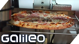 Pizza per Knopfdruck - Skurrile Automaten | Galileo Lunch Break