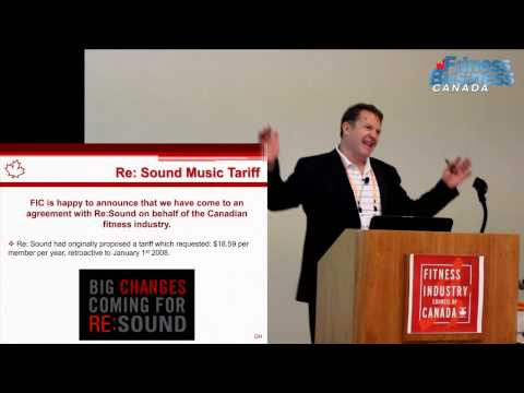 Canadian Fitness Industry - Music Licensing Update