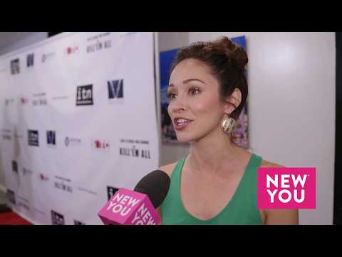 Autumn Reeser at the Kill 'Em All Premiere