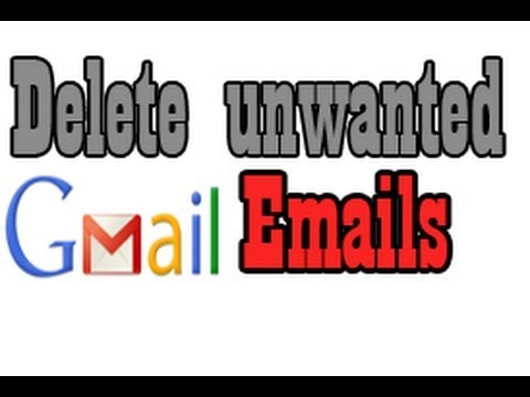 How to Delete Unwanted Emails from Gmail