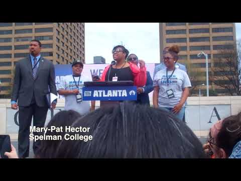 40,000 + Atlantans Support Student-Led March for Stricter Gun Control