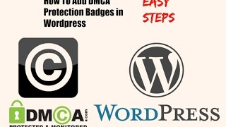 How To Add DMCA Protection Badges in Wordpress