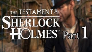 The Testament of Sherlock Holmes Walkthrough - Part 1 Gameplay Samoan Necklace Let