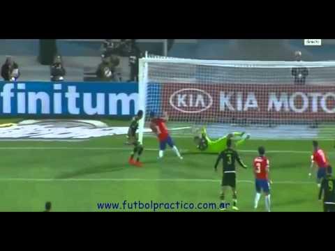 Corner-Arturo Vidal-Chile-15-6-15