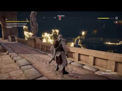 Assassin's Creed® Origins - lower level quests in Alexandria