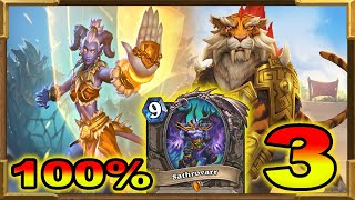 Hearthstone: 100% Winrate Against Shamans, Hunters and Rogues | Meta Breaker Deck | OTK Shirvallah