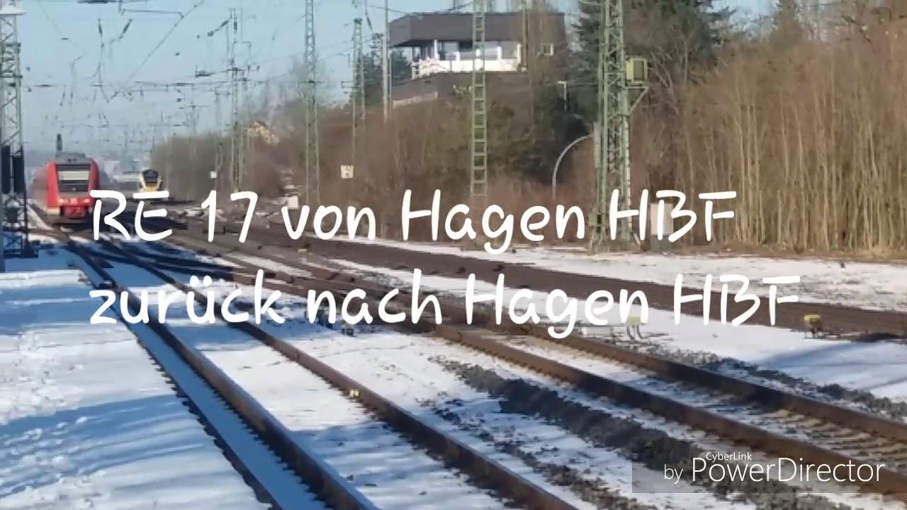 Download RE 17 von Hagen HBF in Warburg(Westf) zurück nach Hagen HBF + Eurobahn nach Münster