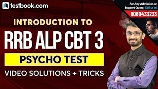 RRB ALP CBT 3 Psycho Test Online Course   Video Solutions + Tricks   Crack RRB ALP CBT 3 Now!