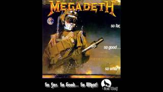 Megadeth - So Far, So Good... So What! 1988 Original HQ 1080p