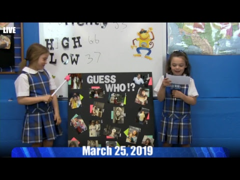 Holy Rosary Academy and Church - VIDEO Live Stream