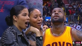 LeBron James Shocks Girl and Leaves Her Speechless with Amazing Shot!