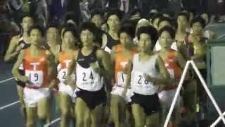 2016.10.1 世田谷陸上競技会(世田谷記録会) 5000m 19組 中央大学 12着...