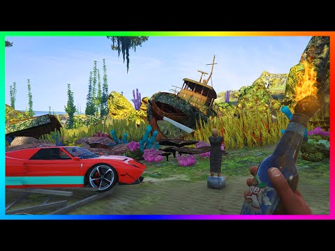 GTA 5 UNDERWATER SECRETS REVEALED - NO WATER EXPLORATION FINDING DEAD BODIES, TREASURE & MORE!