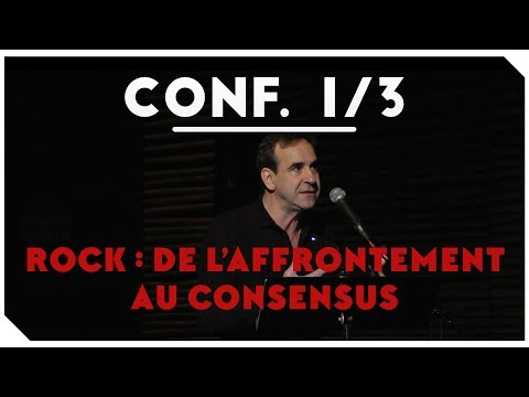 """Rock : De l'affrontement au consensus"" - Conférence de Michka Assayas - Part #1"