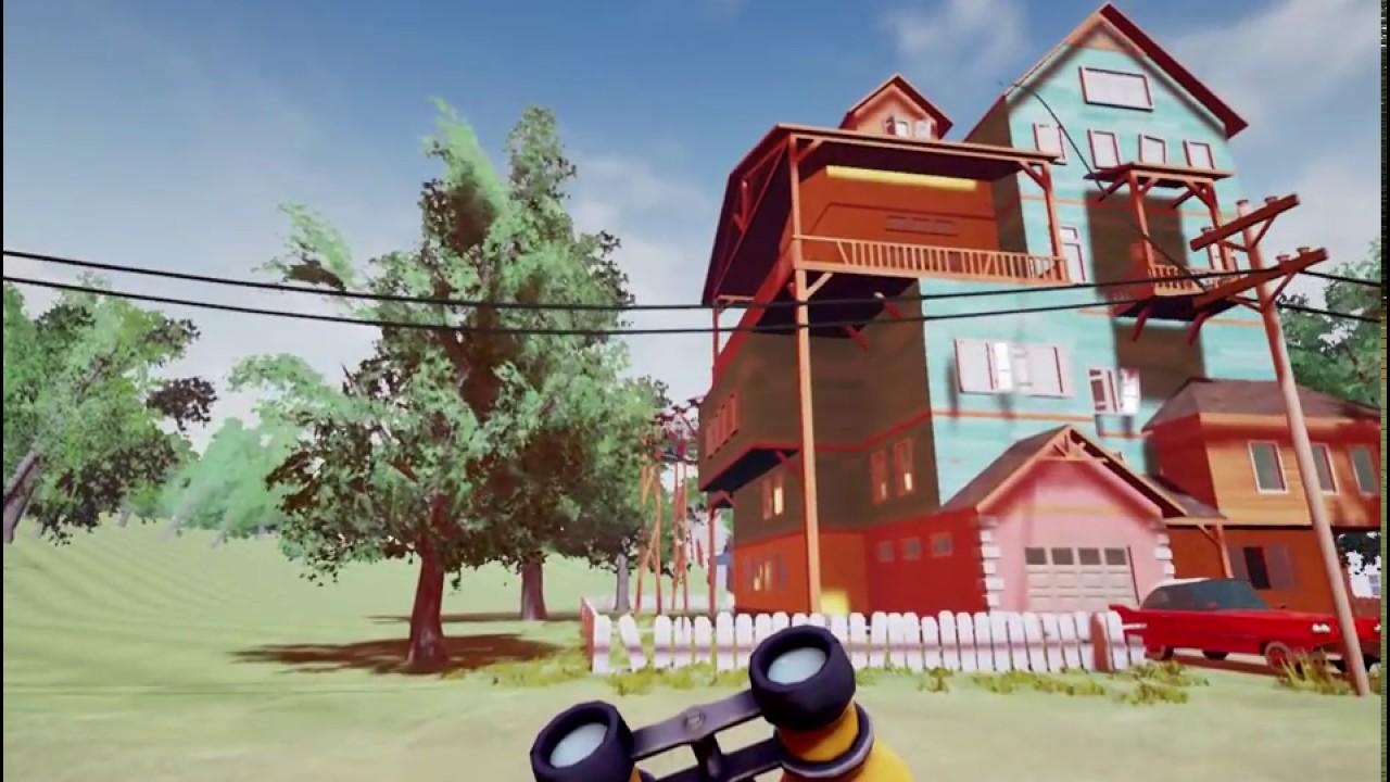 The hello neighbor house - Get Out My House Hello Neighbor Alpha 1 1