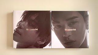 Gambar cover Unboxing SuperM - The 1st Mini Album (Taemin & Lucas)