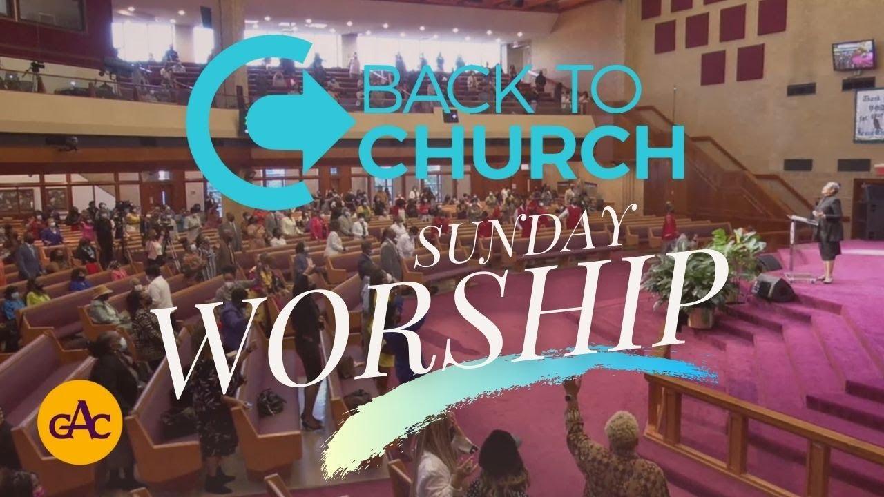 Back To Church Sunday Worship | Allen Virtual Experience