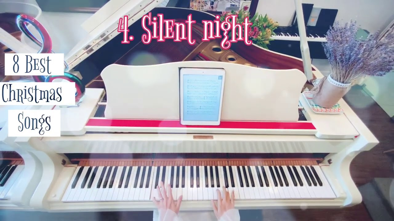 🎵 8 Best Christmas Songs - Piano Easy Version | Phi Phi