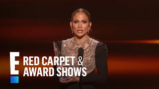 Jennifer Lopez Wins Favorite TV Crime Drama Actress | E! People's Choice Awards