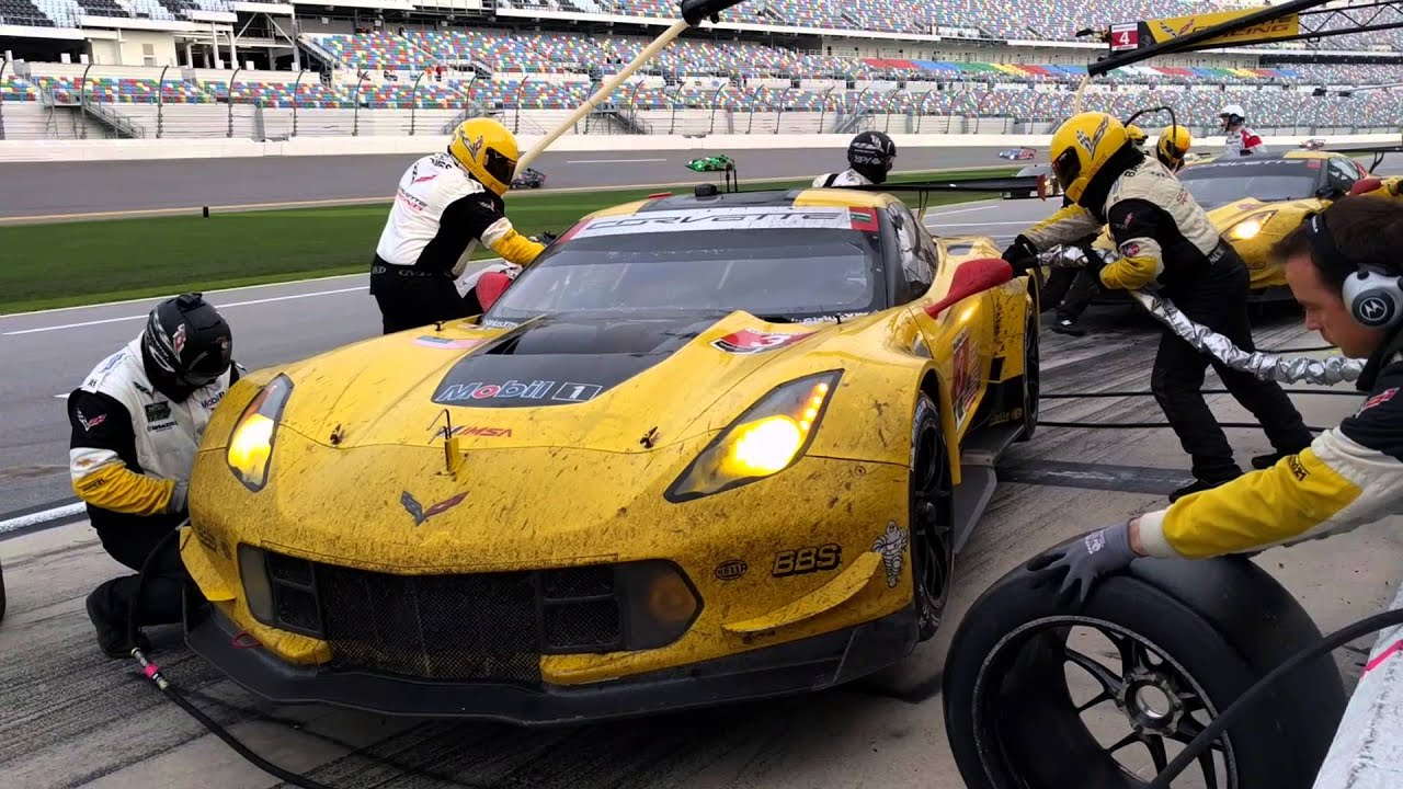 2016 Daytona 24 Gtlm Chevy Corvette C7 R 3 And 4