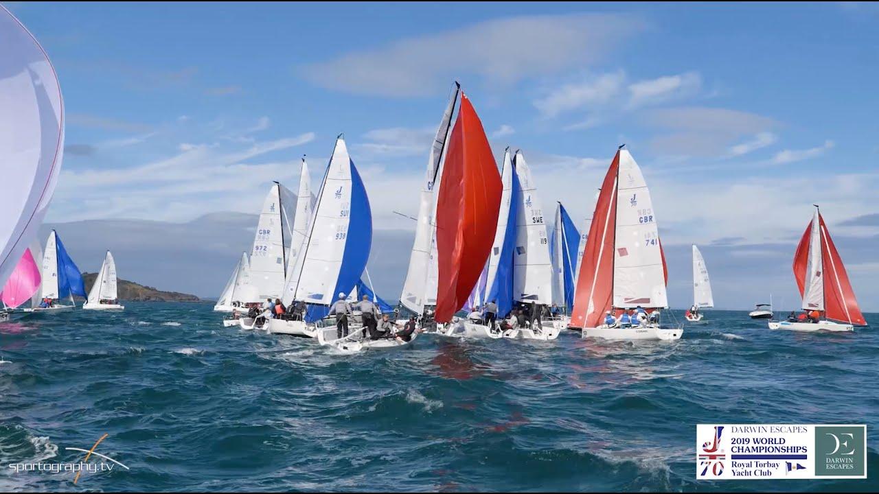 Darwin Escapes 2019 J/70 World Championships at Royal Torbay