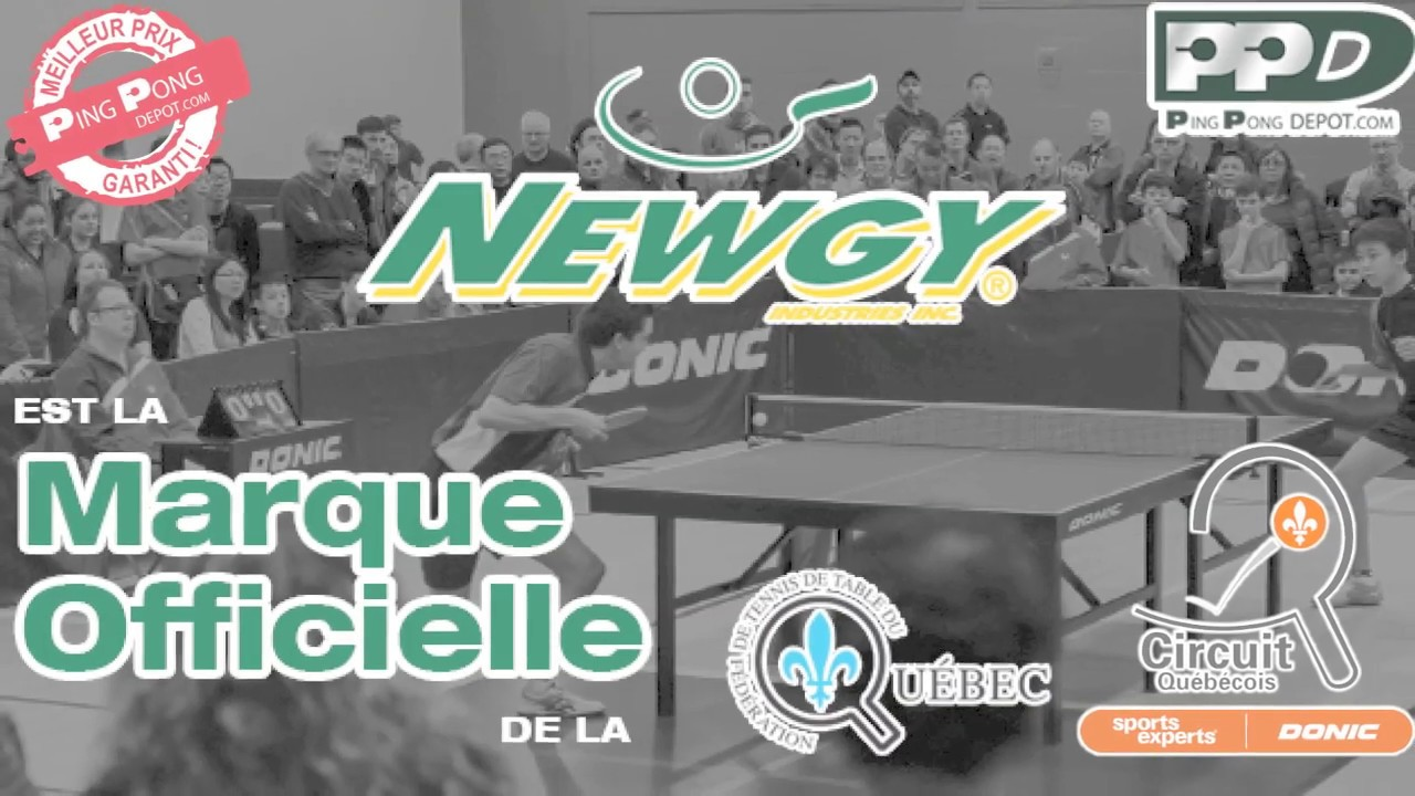 Newgy Marque Officielle De La Federation De Tennis De Table Du
