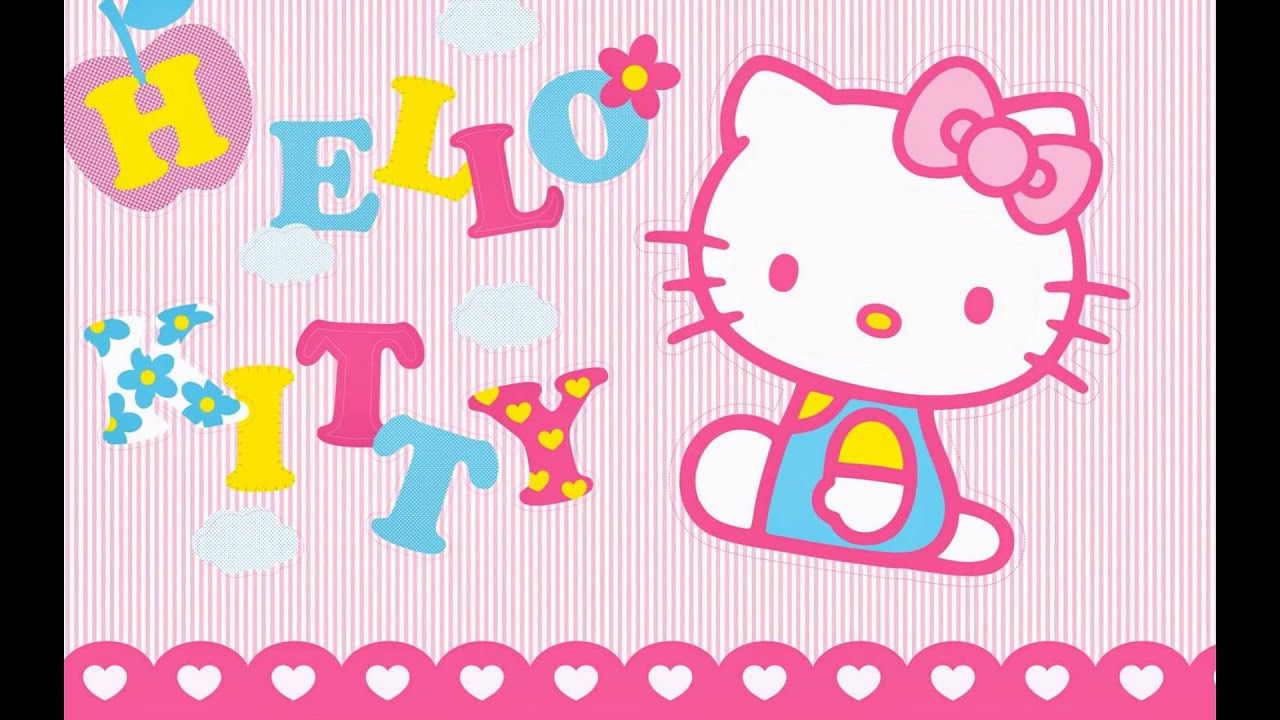Hello kitty wallpaper so cute youtube - Caisse enregistreuse hello kitty ...