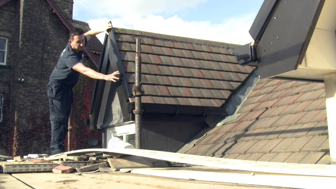 Dry Verges And End Caps Dalton Roofing Youtube