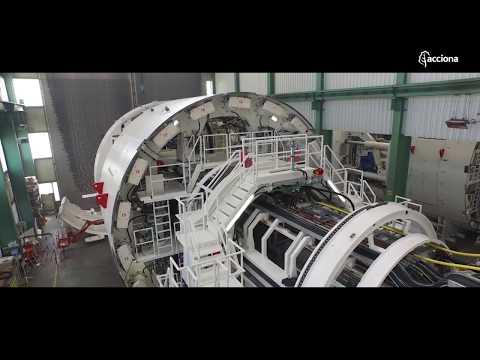 La máquina que ni Julio Verne pudo imaginar | Tuneladoras- ACCIONA
